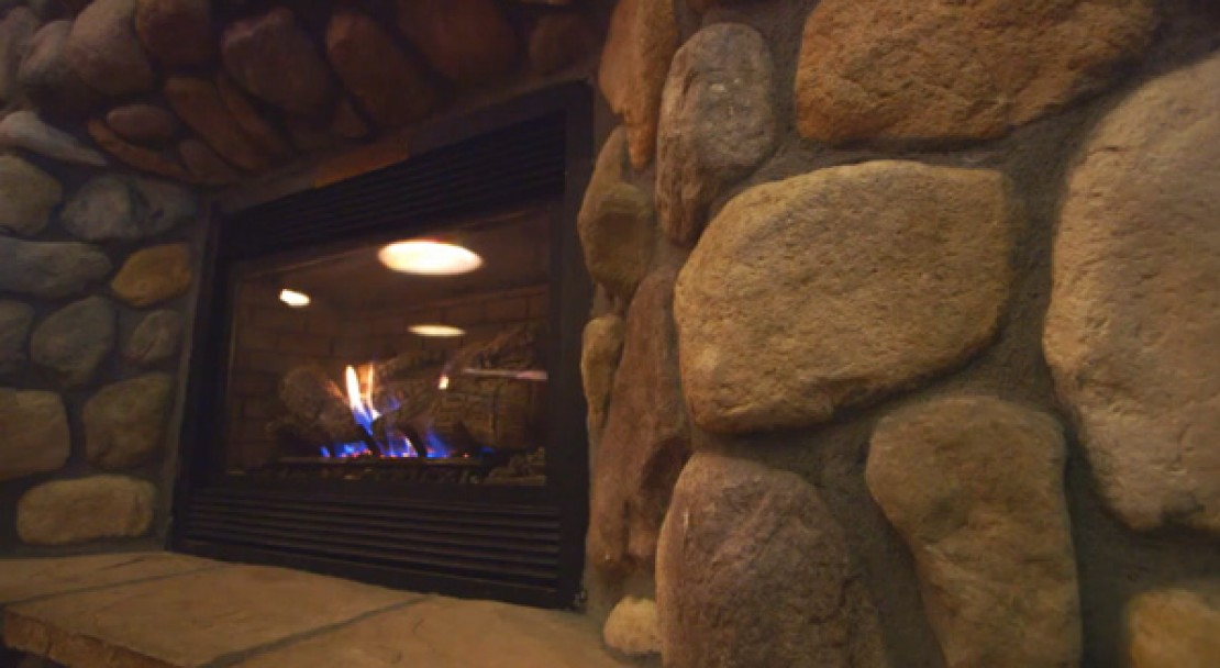 Fireplace at the Evergreen Lodge - Vail