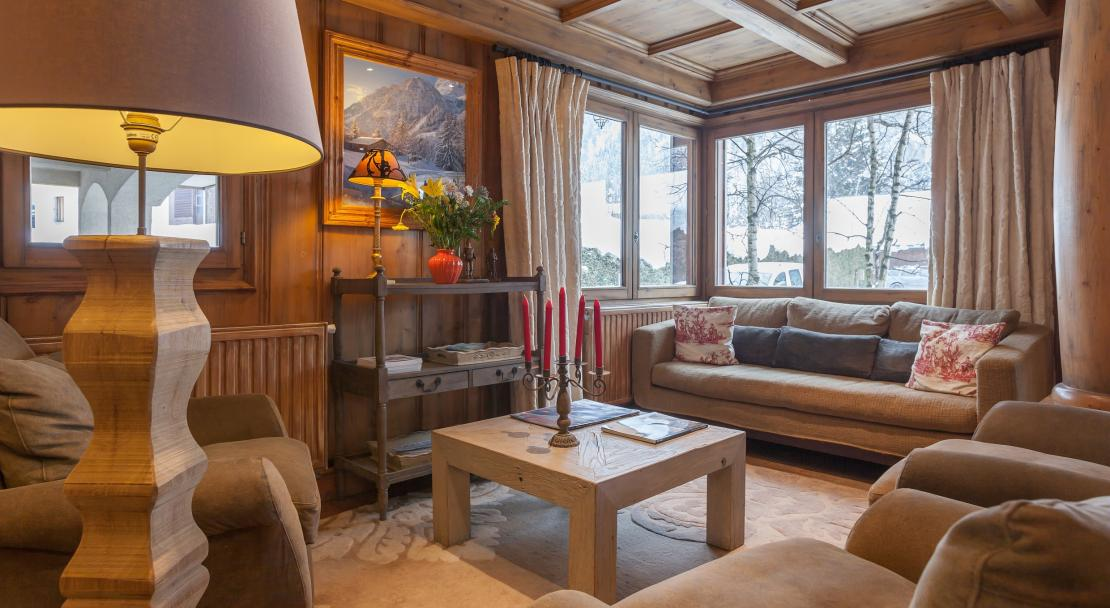 Commnal Lounge in La Ginabelle Chamonix