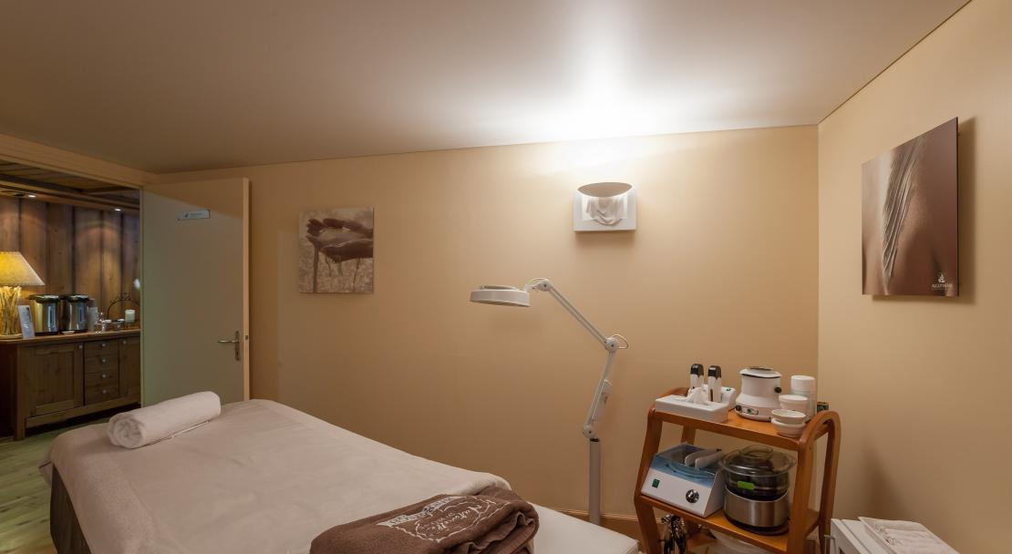 Massage Room La Ginabelle Chamonix