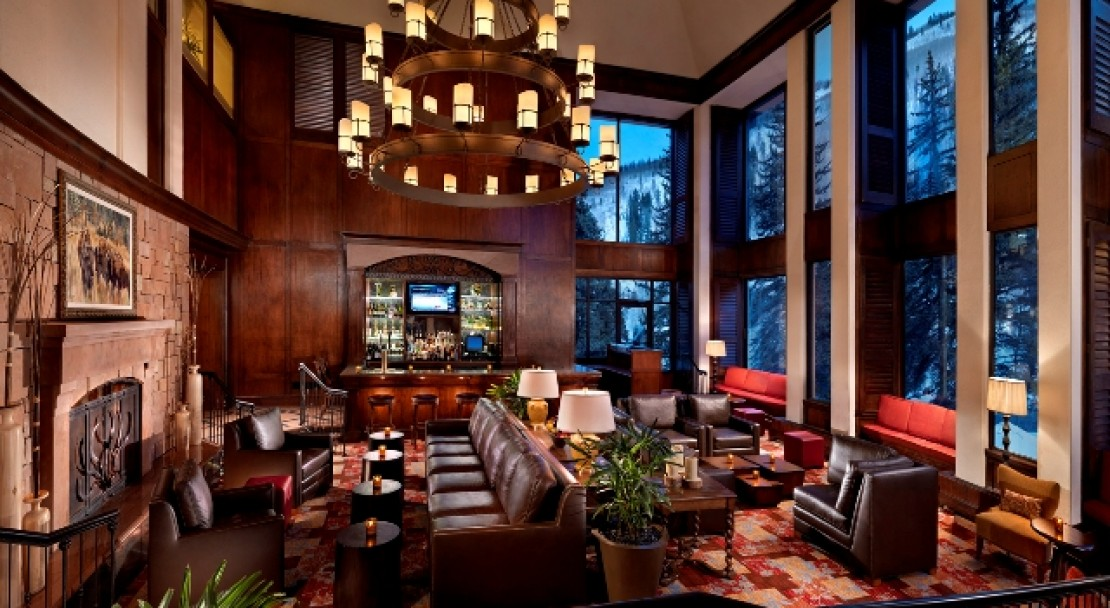 Fireside Bar at Vail Cascade Resort and Spa