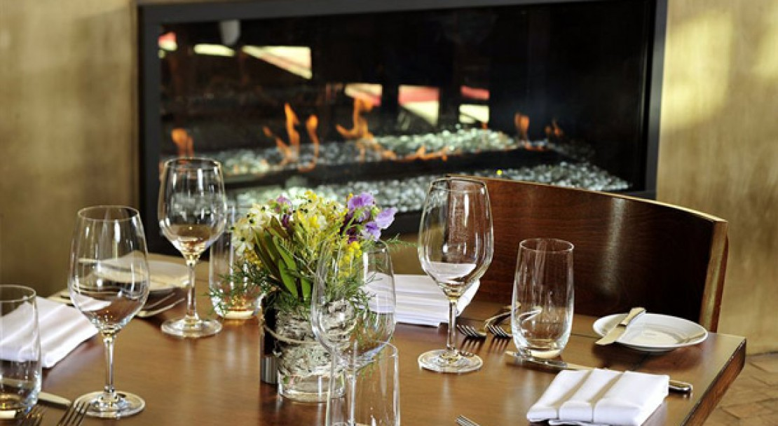 Fine dining at Vail Cascade Resort and Spa