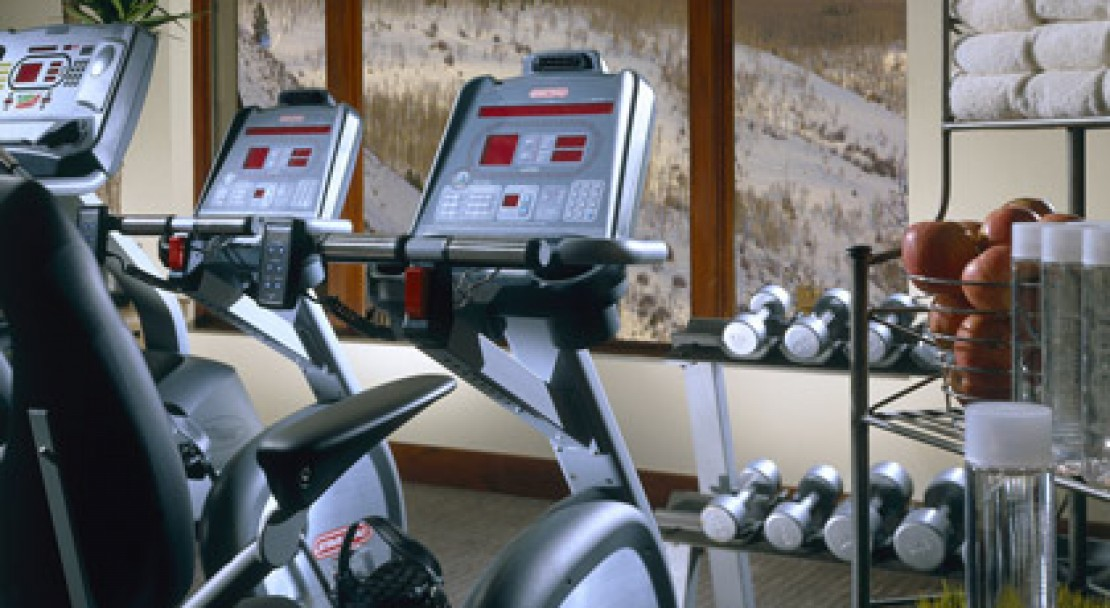 Fitness facilities at the Vail Marriott Mountain Resort & Spa