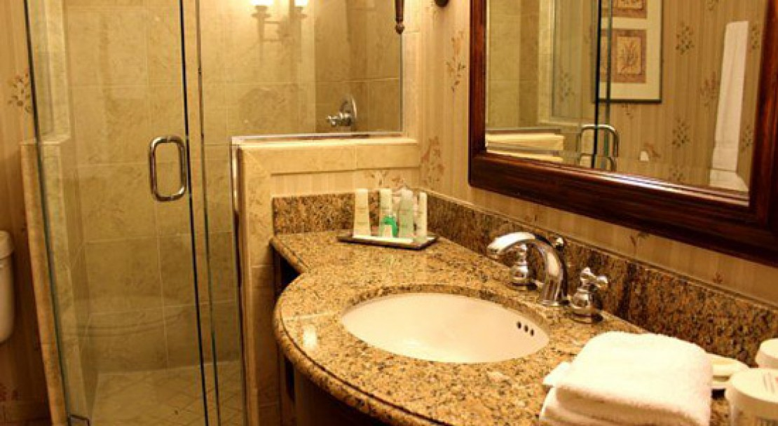 Guest Bathroom at the Vail Marriott Mountain Resort & Spa
