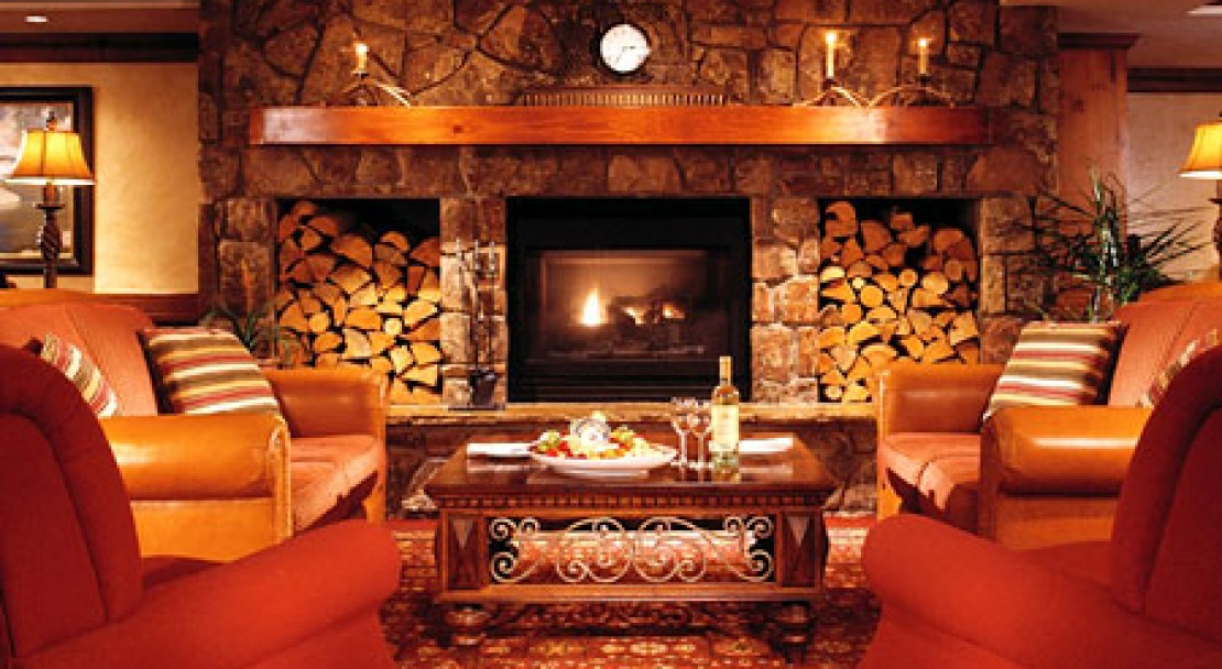 Sitting area at the Vail Marriott Mountain Resort & Spa