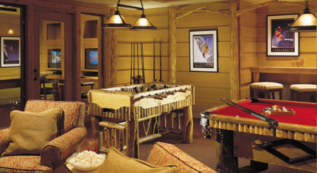 Games Room at the Four Seasons Jackson Hole