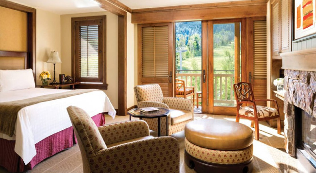 Room at the Four Seasons Jackson Hole