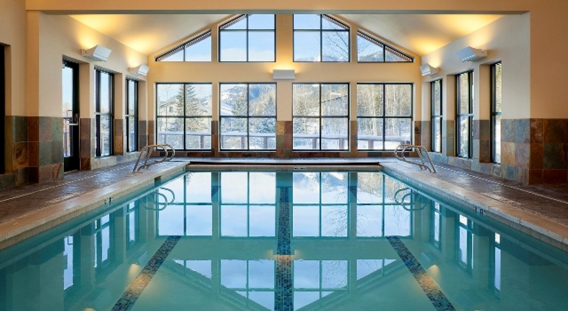 Indoor Pool at the Teton Mountain Lodge & Spa