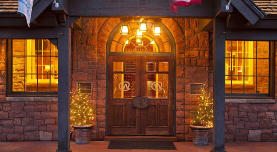 Entrance at the Wort Hotel - Jackson