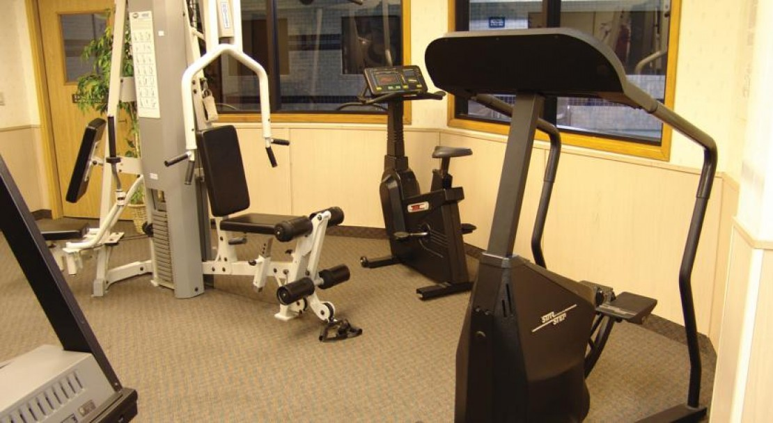 Gym at Shilo Inn Suites - Mammoth Lakes