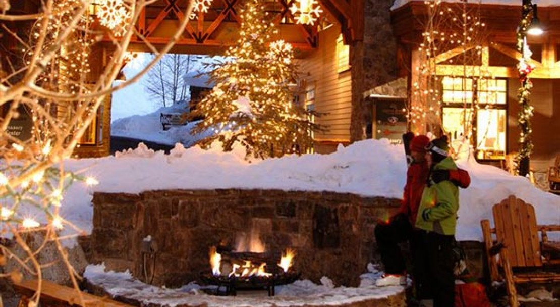 Firepit at the Lodge at Mountaineer Square - Crested Butte