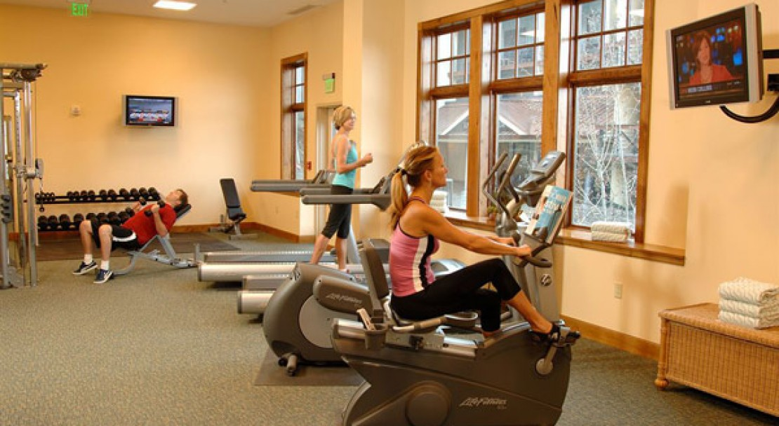 Gym at the Lodge at Mountaineer Square - Crested Butte