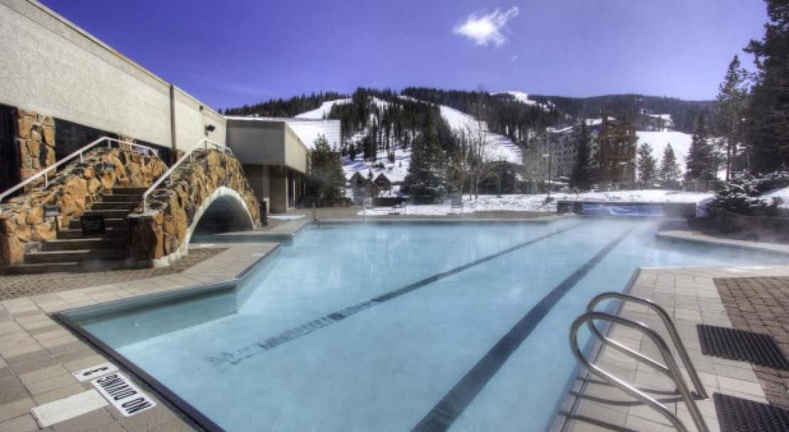 Pool at Shoshone at Big Sky