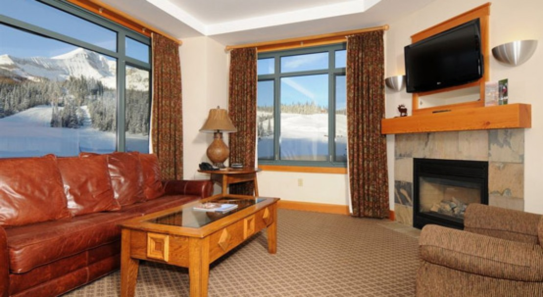 Room with View at Summit at Big Sky
