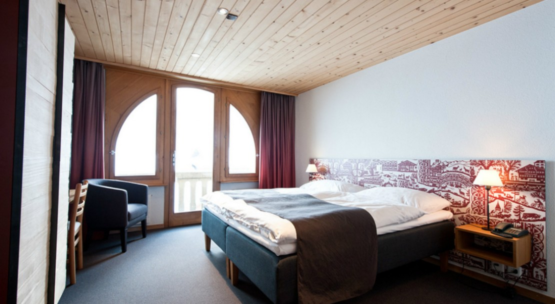 Room at Hotel Landhaus - Gstaad - Switzerland