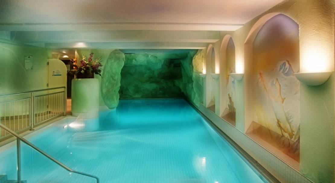 Indoor Pool at Sunstar Boutique Hotel Beau-Site Saas-Fee - Switzerland