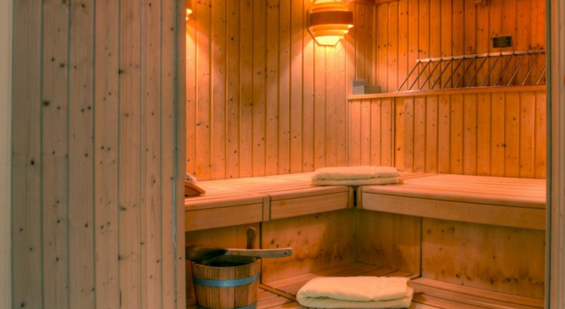 Sauna at Sunstar Boutique Hotel Beau-Site Saas-Fee - Switzerland
