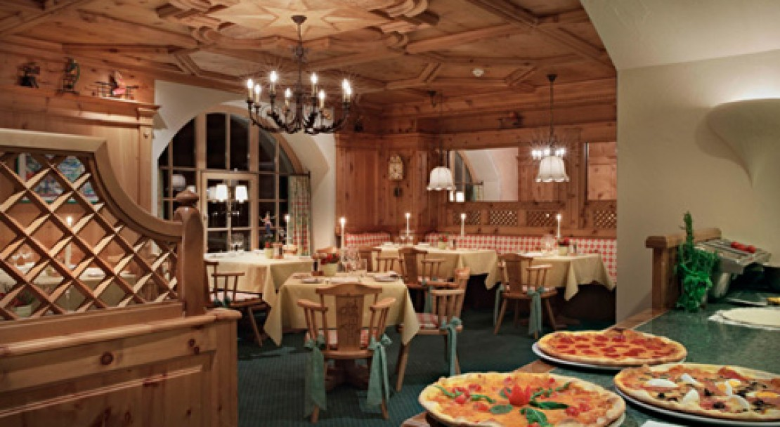 Pizzaria at Kulm Hotel - St Moritz - Switzerland