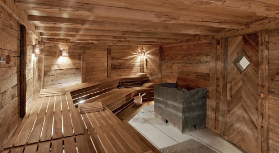Sauna at Kulm Hotel - St Moritz - Switzerland