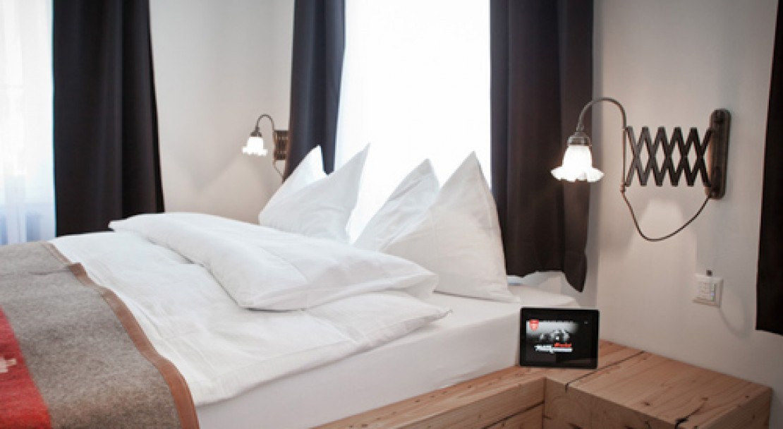 Double Room at The Dom Hotel - Saas-Fee - Switzerland