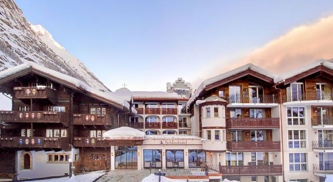 Exterior of Schlosshotel Zermatt - Switzerland