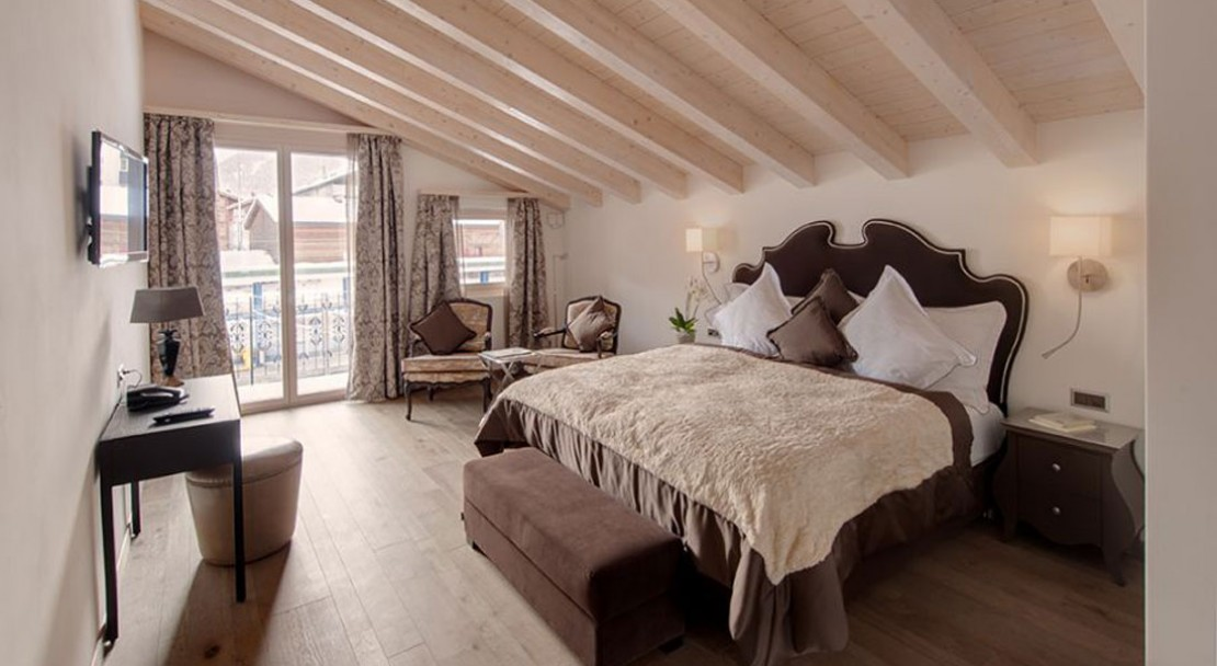Penthouse Suite at Schlosshotel Zermatt - Switzerland