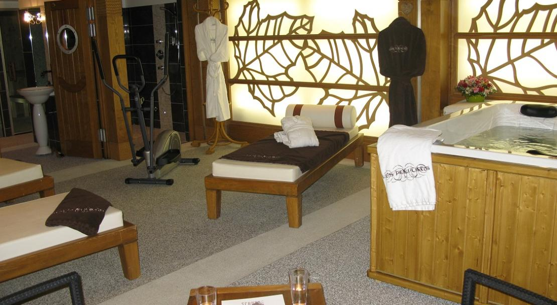 Spa, Hotel Les Peupliers, Courchevel 1300