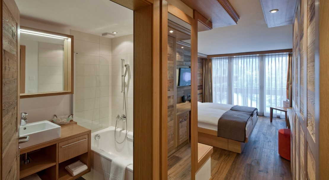 Double Room at Chalet Hotel Schönegg - Zermatt - Switzerland