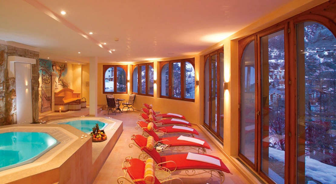Spa at Chalet Hotel Schönegg - Zermatt - Switzerland