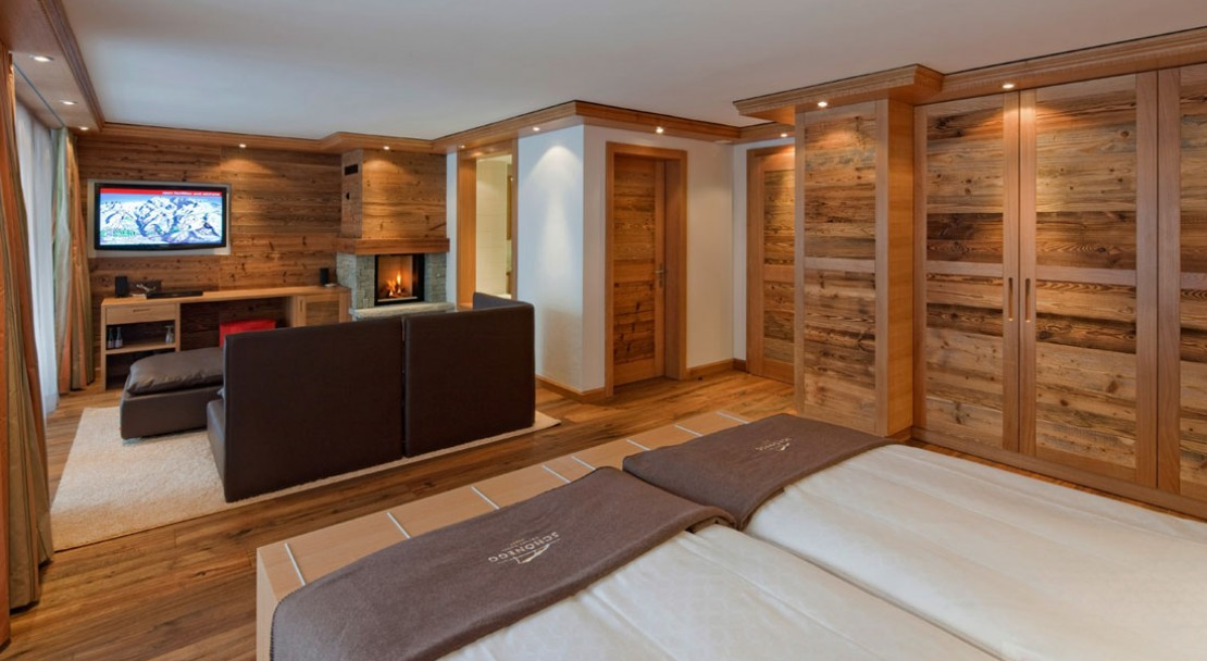 Junior Suite at Chalet Hotel Schönegg - Zermatt - Switzerland