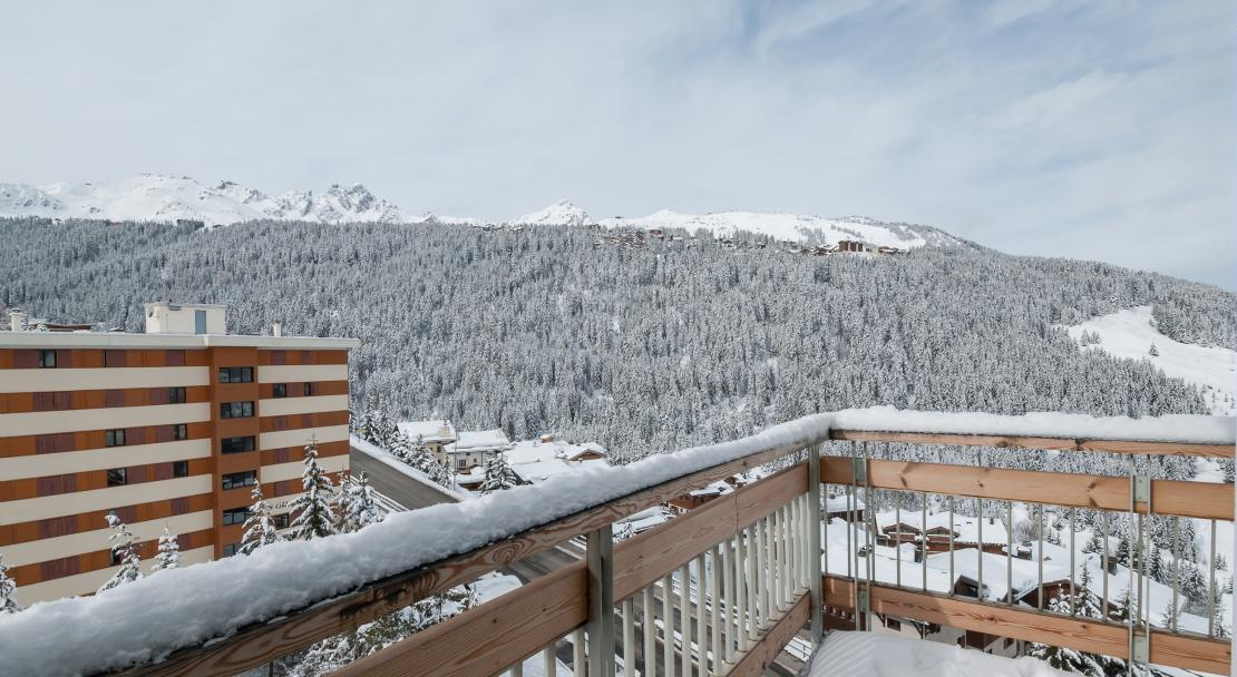 Le Moriond, Courcheval, Balcony