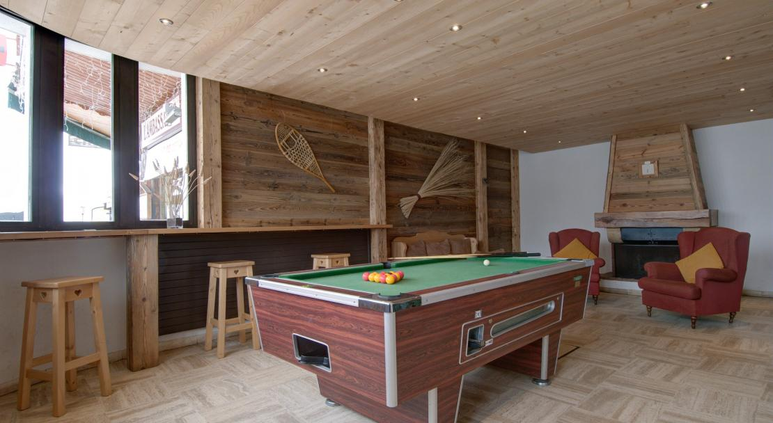 Le Moriond, Courcheval, Communal Lounge