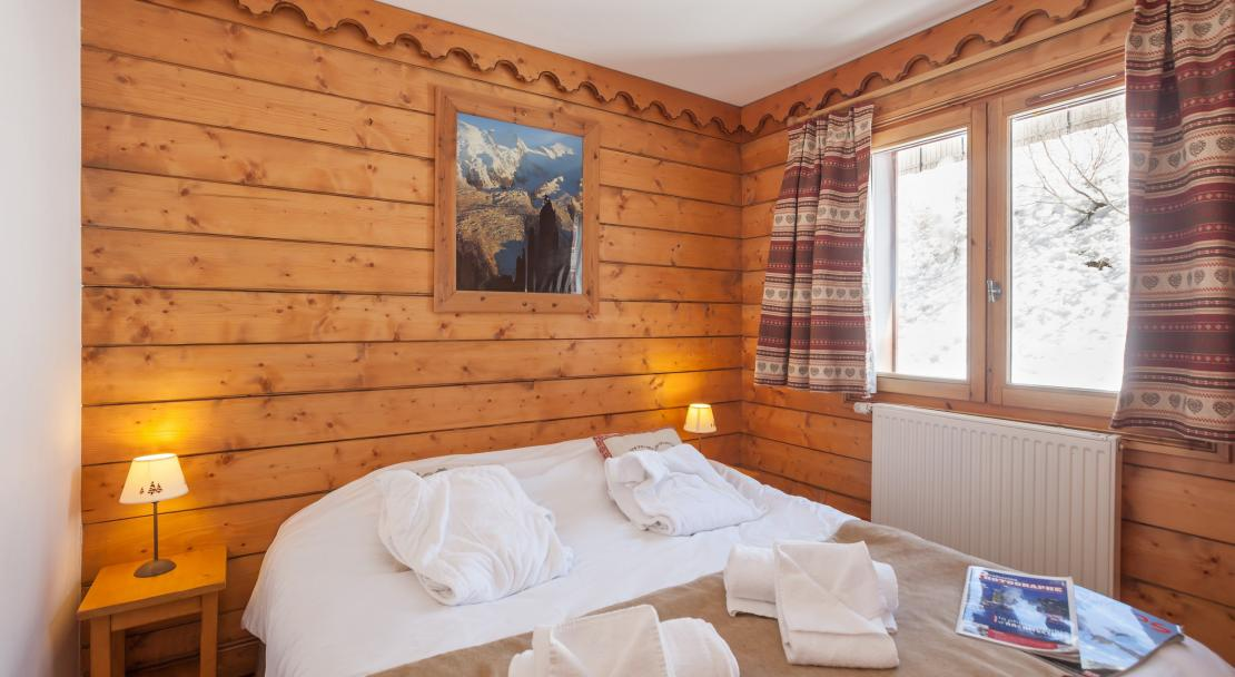 L'Ecrin des Neiges - Double Bedroom