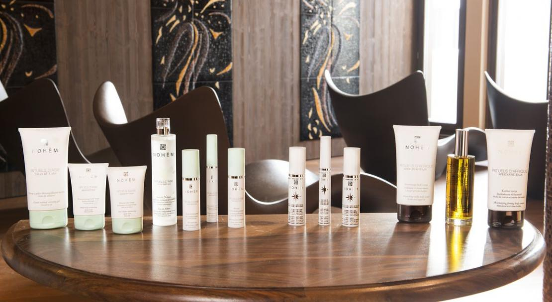 Hotel Le Hameau du Kashmir Val Thorens Spa products