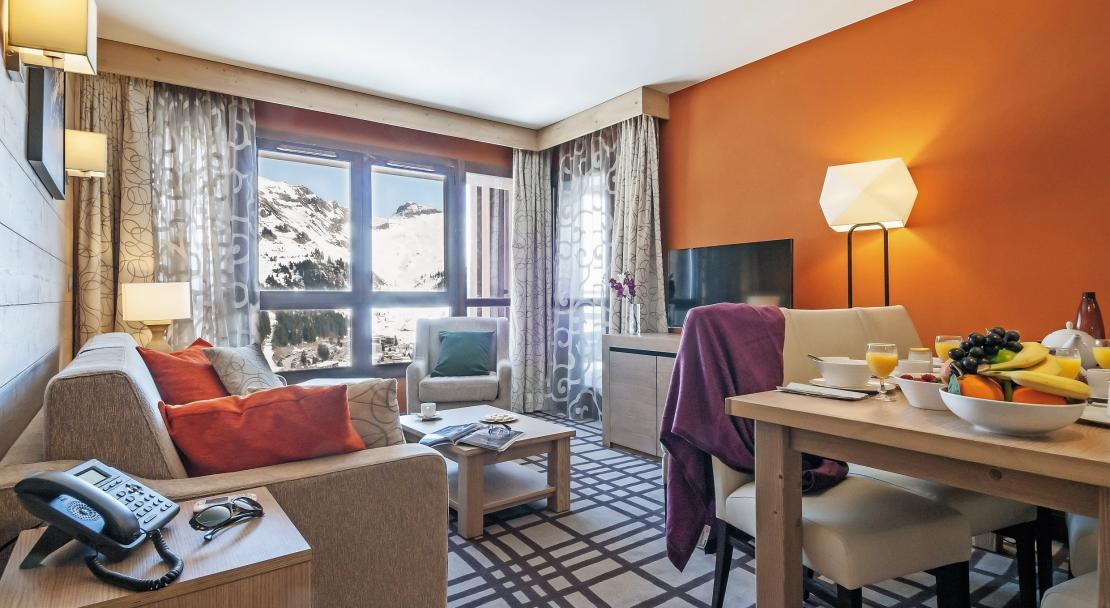 Apartment in Les Terrasses d'Helios Flaine