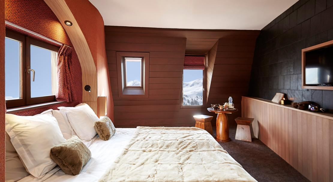 Hotel des Dromonts - Bedroom example