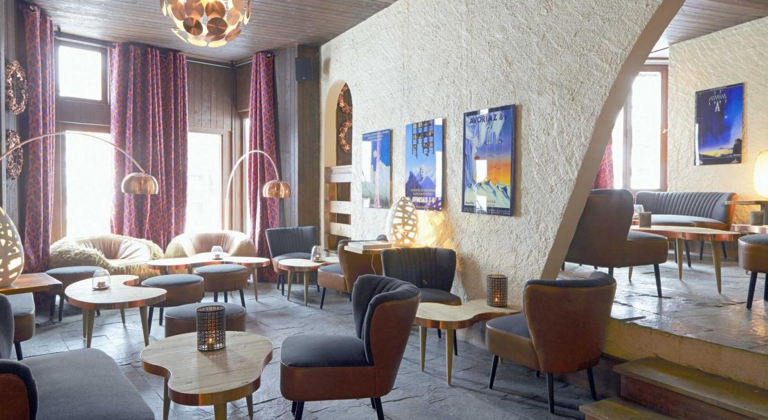 Lobby at Hotel-des-Dromonts Avoriaz