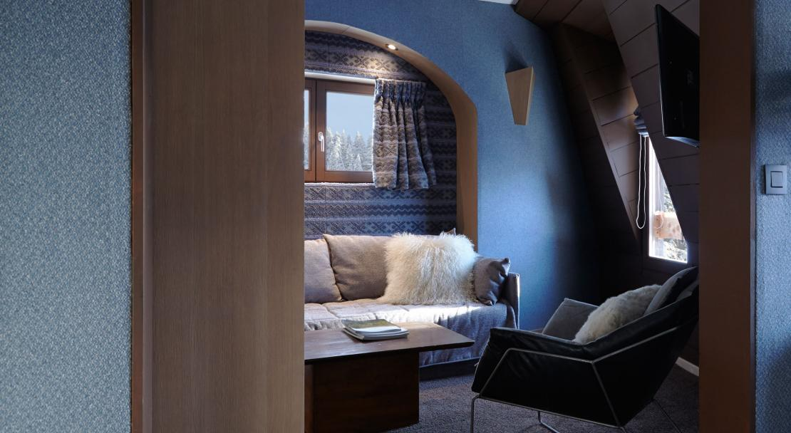 Suite in the Hotel des Dromonts