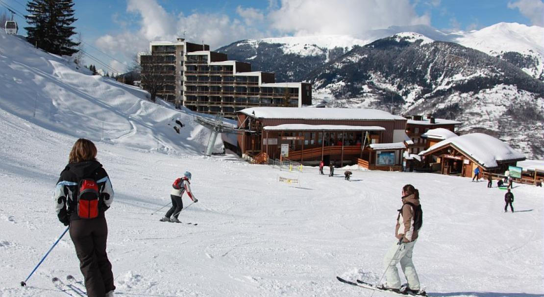 Ski slope accommodation in Les Grangettes Courchevel