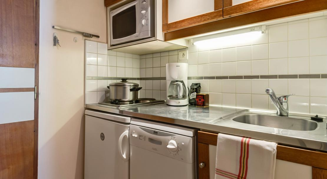 Kitchenette in Les Grangettes Courchevel