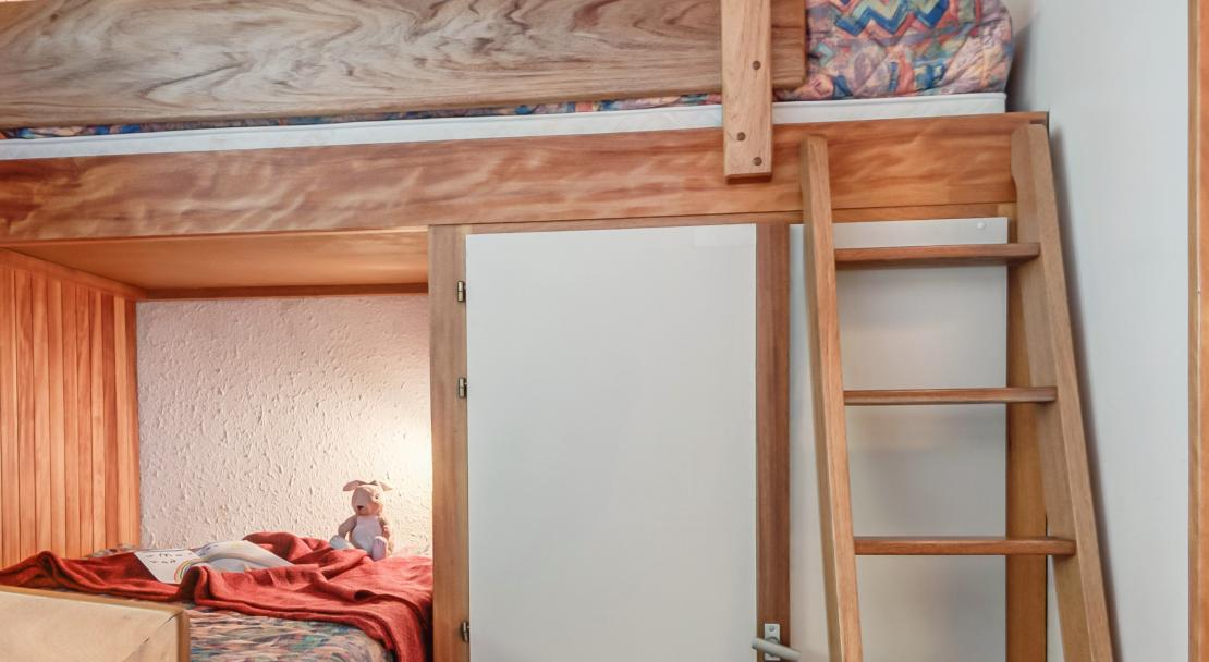 Bunk Bed room in Les Grangettes Courchevel