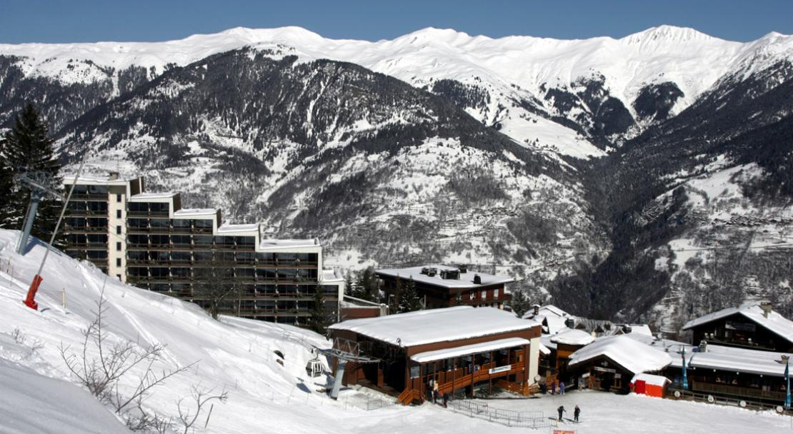 Exterior of Les Grangettes Courchevel