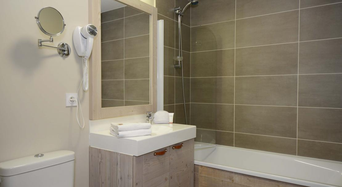Residence Le Panoramic, Flaine - Bathroom