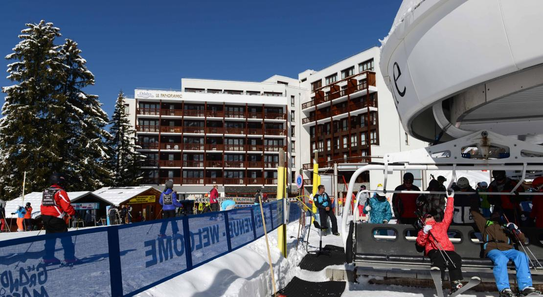 Residence Le Panoramic, Flaine - Ski in Ski out
