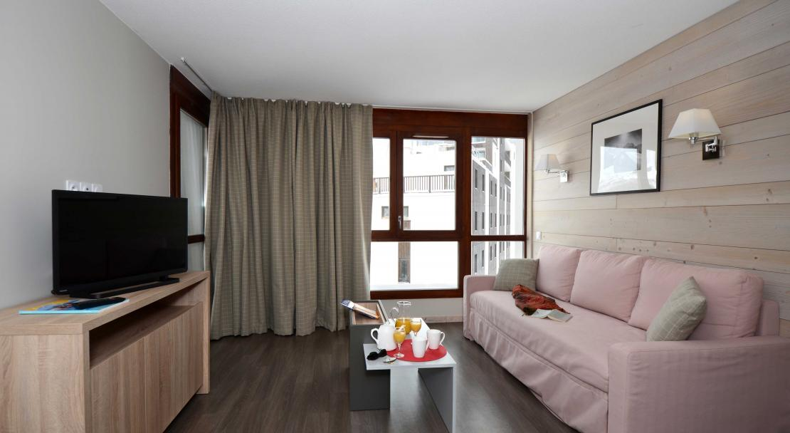 Residence Le Panoramic, Flaine - Living Area
