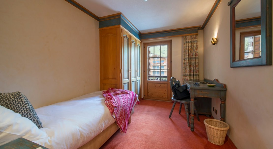 Hotel Montpelier Verbier Single Room