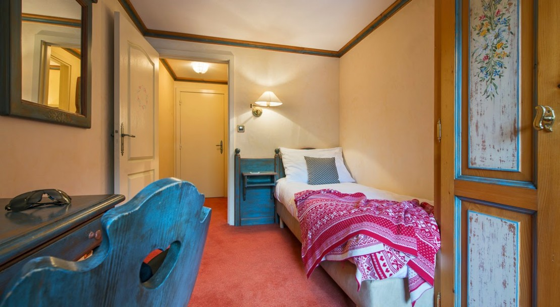 Single Room Hotel Montpelier Verbier