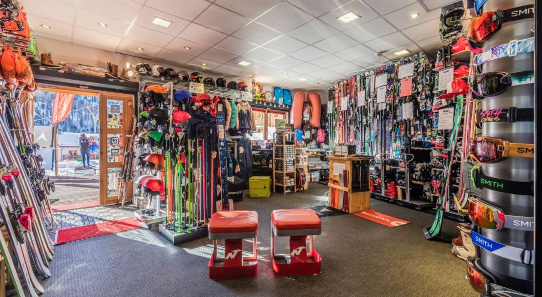 Ski shop; Copyright: Hotel & Spa Anova