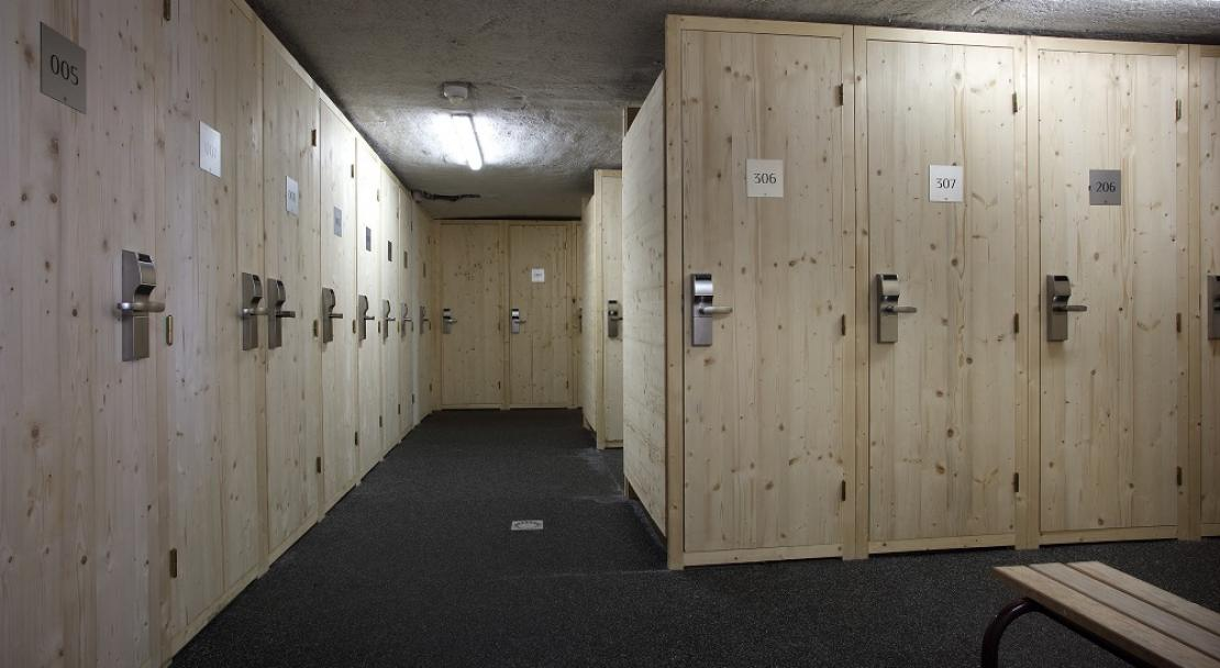 La Source des Arcs - Ski Lockers