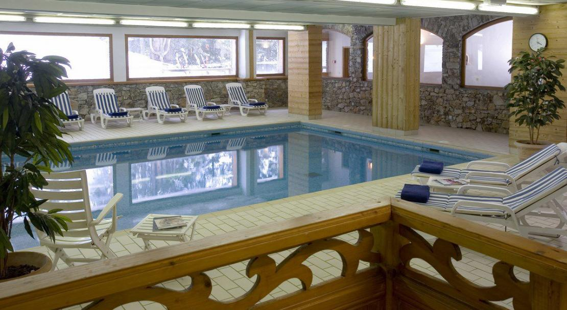 Hotel les Ducs de Savoie Courchevel Swimming Pool