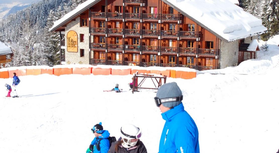 Le Grand Chalet des Pistes Meribel Slopes